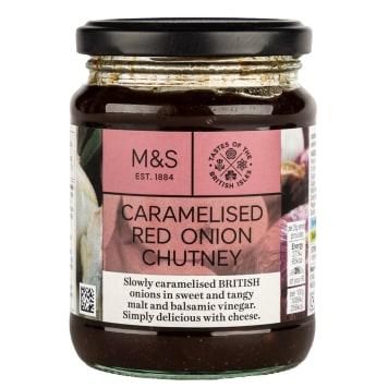 MARKS & SPENCER Sos chutney z karmelizowanej czerwonej cebuli 330g