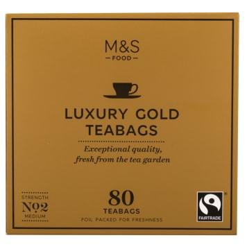 MARKS & SPENCER Herbata Luxury Gold, 80 torebek 250g