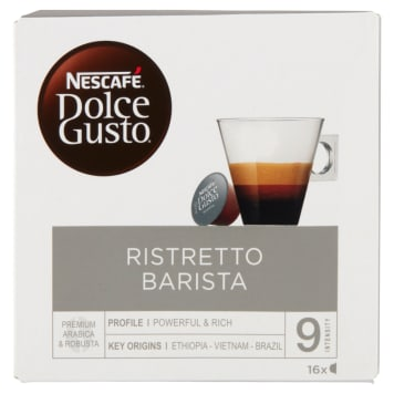 Kawa w kapsułkach - Nescafé Dolce Gusto Barista. Ma wyrazisty i intensywny smak.