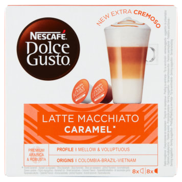 NESCAFÉ Dolce Gusto Latte Macchiato Caramel Kawa w kapsułkach 146g