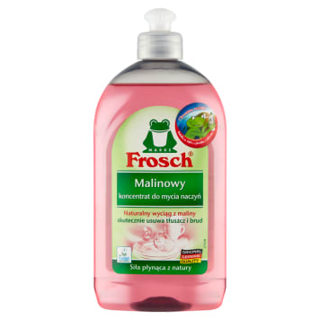 FROSCH Malinowy koncentrat do mycia naczyń 500ml