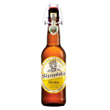STAROPOLSKIE Miodne Piwo (butelka bezzwrotna) 500ml