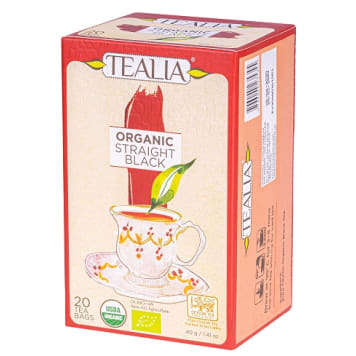 TEALIA Czarna Cejlońska Herbata 40g