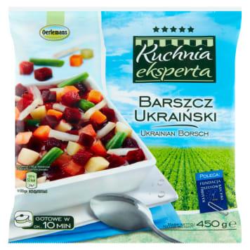 Mrożony barszcz ukraiński Oerlemans to podstawa do błyskawicznej, pełnowartościowej zupy.