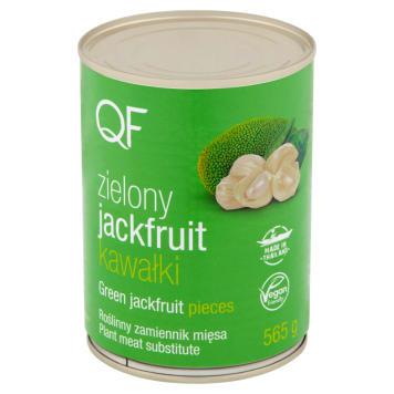QF Jackfruit zielony krojony (zamiennik mięsa) 565g