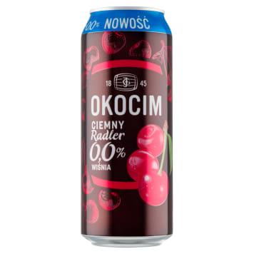 OKOCIM RADLER Piwo bezalkoholowe, wiśniowe 500ml