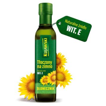 KUJAWSKI Olej słonecznikowy tłoczony na zimno 250ml