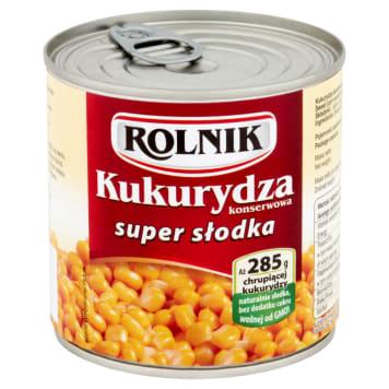 Kukurydza konserwowa do sałatek - Rolnik