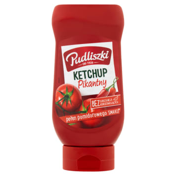 PUDLISZKI Ketchup pikantny 480g