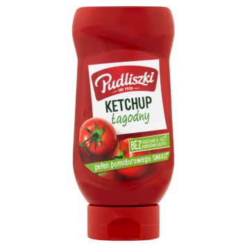PUDLISZKI Ketchup łagodny 480g