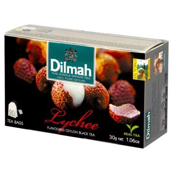 Dilmah - Herbata o smaku liczi 20 torebek to pyszny smak owoców, który ubarwi chwile relaksu.