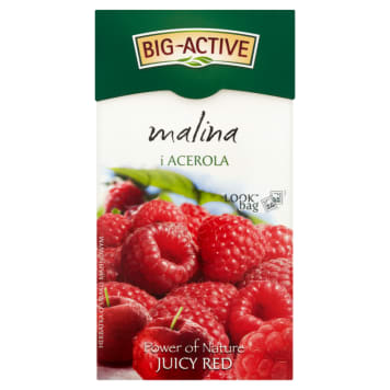 Herbata owocowa malina i acerola - Big - Active