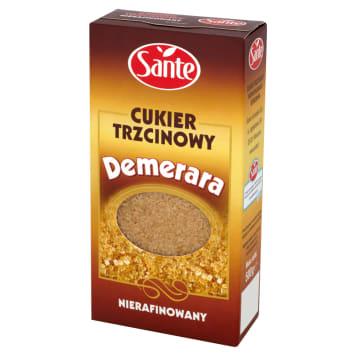 Cukier trzcinowy nierafinowany do ciast i słodzenia - Sante