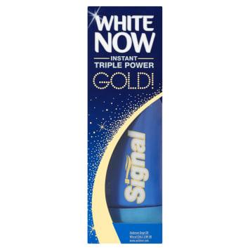 Pasta do zębów White Now – Signal myje i wybiela zęby już po 2 minutach od użycia.