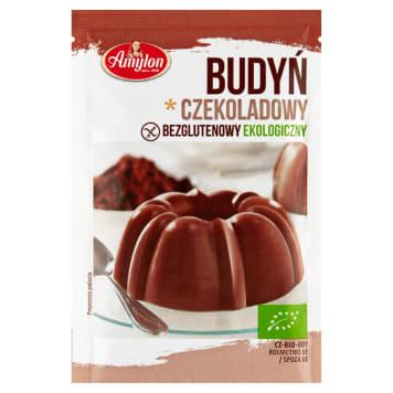Budyń czekoladowy Bio - Amylon. Pyszny i naturalny mleczny deser.