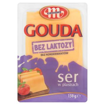 Ser Gouda w plastrach - Mlekovita