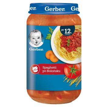 Gerber - Spaghetti po bolońsku dla dzieci po 1 roku. Wytworzone z myślą o najmłodszych.