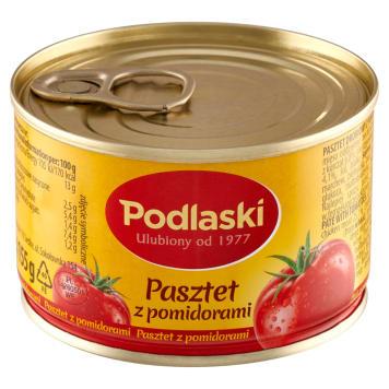 Pasztet Podlaski pomidorowy Drosed- pasztet z wątróbką, kaszą manną i suszonymi pomidorami.