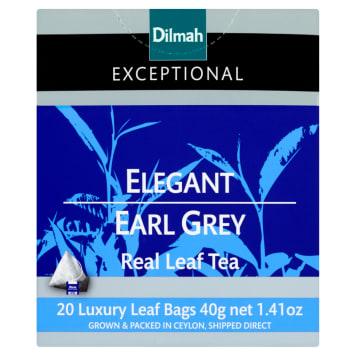 Herbata czarna Elegant Earl Grey 20 torebek - Dilmah Excepcional