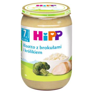 Ristotto z brokułami i królikiem - Hipp. Wartościowe danie dla dzieci po 7. miesiącu życia.
