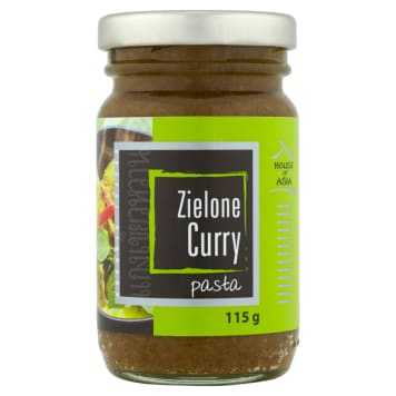 HOUSE OF ASIA Pasta Zielone curry 115 g