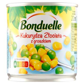 Kukurydza złocista z groszkiem 170g - Bonduelle - gwarancja smaku w Twoim domu