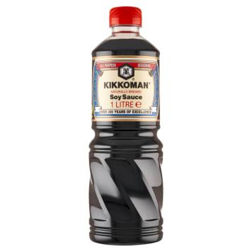 KIKKOMAN Naturalnie warzony sos sojowy 1l