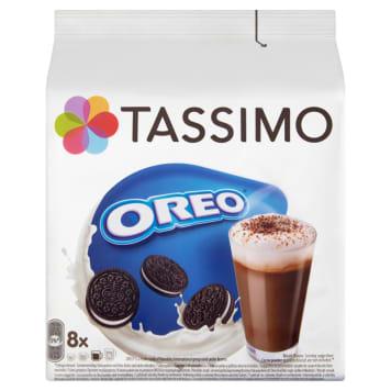 Napój mleczny w kapsułkach Oreo – Tassimo smakuje waniliowo-czekoladowymi ciasteczkami Oreo.