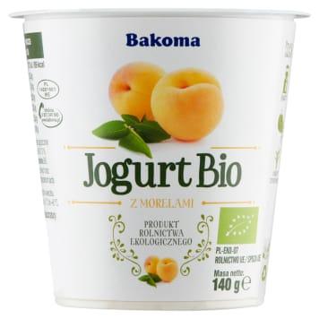 BAKOMA Jogurt BIO Morela 140g