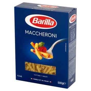 Makaron rurki-Barilla Maccheroni. To apetyczne, krótkie rurrki doskonałe do zup.