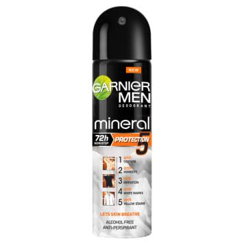 GARNIER Mineral MEN Antyperspirant w sprayu Protection 5 150ml