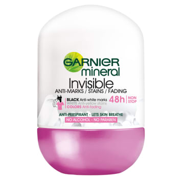 GARNIER Mineral Antyperspirant w kulce Invisible 50 ml