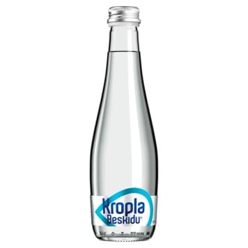 KROPLA BESKIDU Woda mineralna niegazowana (szkło) 330ml