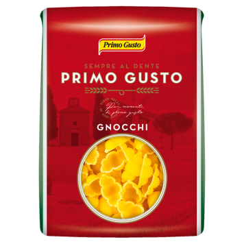 Makaron gnocchi Primo Gusto – Melissa w kształcie muszelek powstał z pszenicy durum.