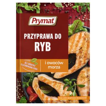 Prymat - Przyprawa do ryb i owoców morza doskonale nadaje się do smażonych ryb.