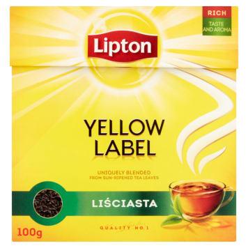 LIPTON Yellow Label Herbata liściasta 100g