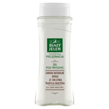 Hipoalergiczny żel pod prysznic naturalny - Biały Jeleń. Zadba o najbardziej wymagającą skórę.