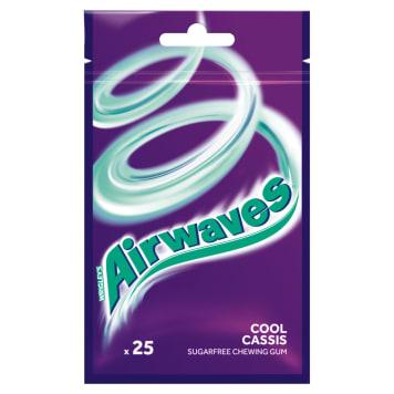 AIRWAVES Cool Cassis Guma do żucia w torebce 25 drażetek 35g