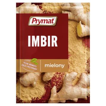 Prymat - Przyprawa Imbir mielony. Nadaje potrawom orientalny smak i aromat.
