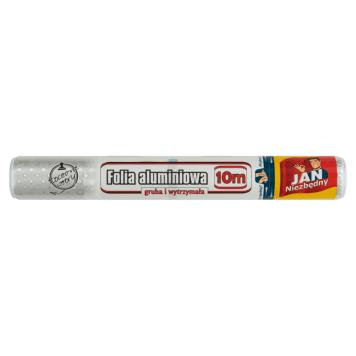 JAN NIEZBĘDNY Folia aluminiowa 10m 1szt