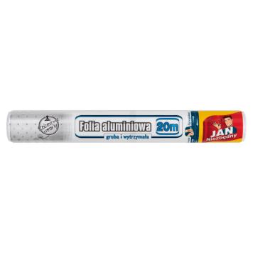 JAN NIEZBĘDNY Folia aluminiowa 20m 1szt