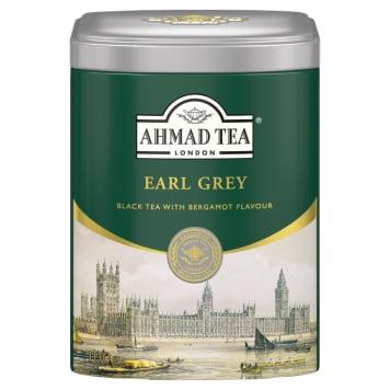 Herbata czarna liściasta Earl Gray - Ahmad Tea. Pyszny smak i doskonały aromat.