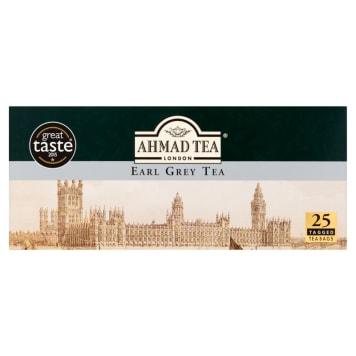 Herbata czarna ekspresowa Early Gray – Ahmad tea wzbogacona o olejek z bergamoty.