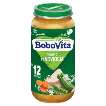 Risotto z indykiem (1-3 lata 250g) - Bobovita Junior. Pełnowartościowy posiłek bez konserwantów.