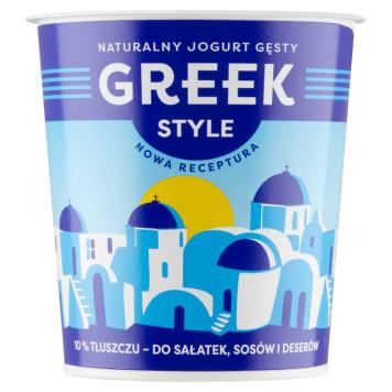 Jogurt - Greek Style. Wzbogacony o szczepy bakterii typowych dla produktów mlecznych.