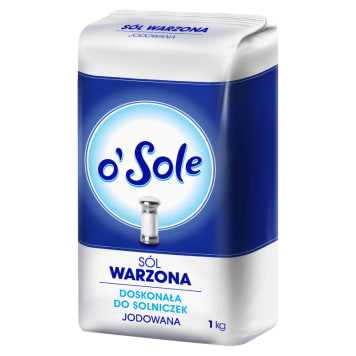 O SOLE Sól warzona jodowana 1kg