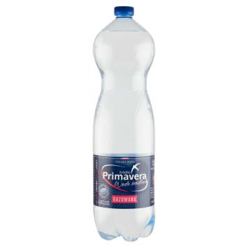 Primavera - Naturalna woda źródlana gazowana. Doskonale gasi pragnienie.
