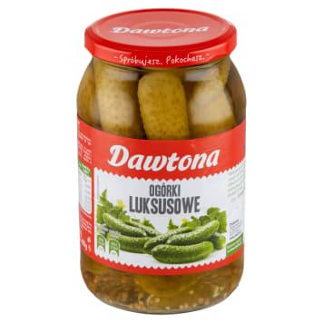 Ogórki konserwowe 900g DAWTONA - dla każdego miłośnika tradycyjnej, polskiej kuchni.