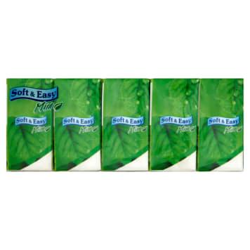 SOFT&EASY Chusteczki higieniczne Mint 10x10 szt. 1szt