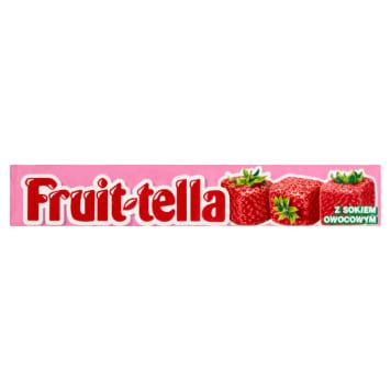 FRUITTELLA Smaki z natury Cukierki do żucia -Truskawka 41g